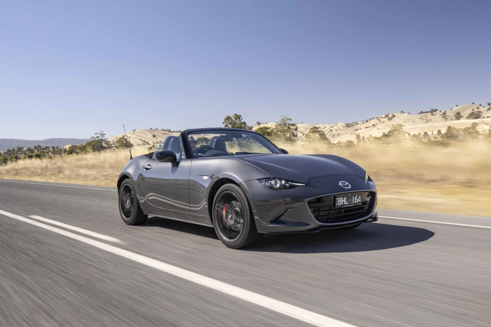 The MX-5 is one of the most enjoyable drives out there.