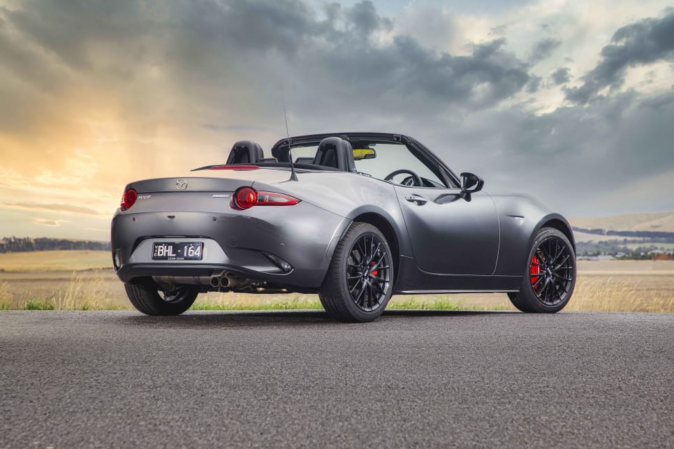 This iteration of the MX-5 has aged gracefully.