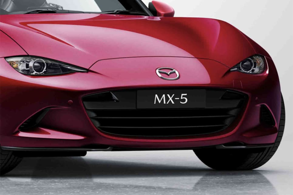 The Mazda MX-5 GT RS includes dusk-sensing LED headlights.