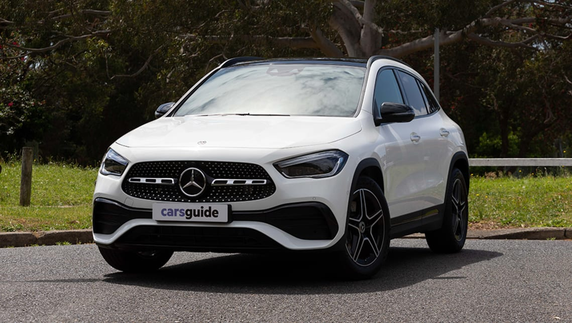 The GLA 250 4Matic comes with all-wheel drive and Off-road pack, but is that necessary for the city? (image: Dean McCartney)