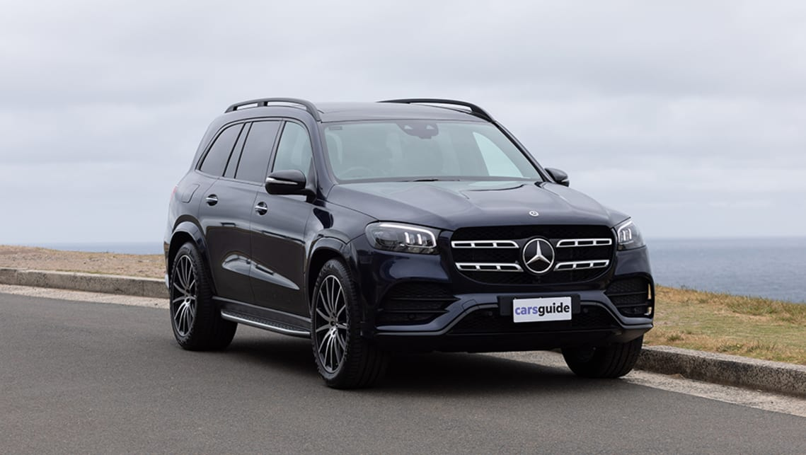 Mercedes Gls 2021 Review 450 4matic Luxury For The Whole Family Carsguide