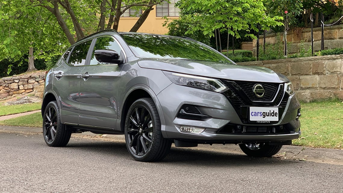 The Nissan Qashqai Midnight Edition is essentially a black pack, but done really nicely. (image: Matt Campbell)