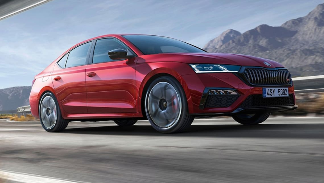 New Skoda Octavia Rs 2021 Detailed Subaru Wrx Rivalling Czech Small Car Gains Plug In Hybrid Option Car News Carsguide