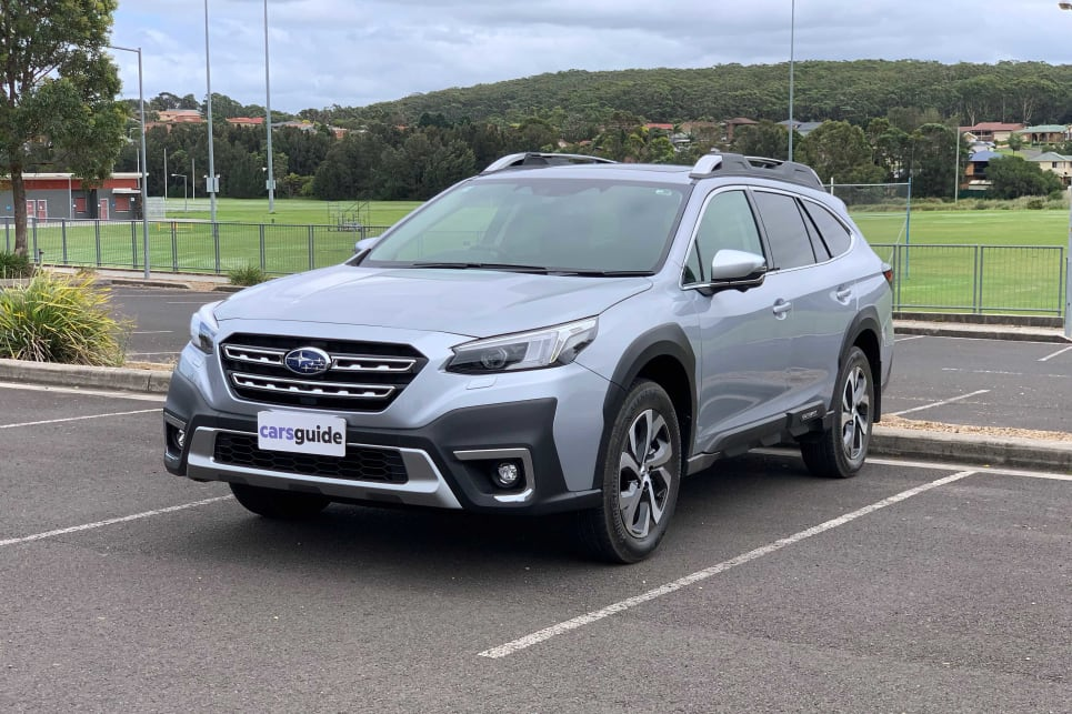 The 2021 Outback is an all-new car (image: AWD Touring).