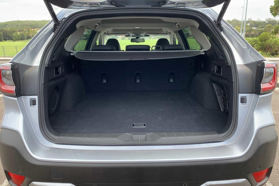 The new Outback offers 522 litres (VDA) of boot space (image: AWD Touring).