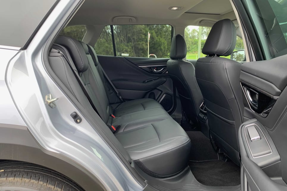 The rear seats offer enough room for taller people (image: AWD Touring).