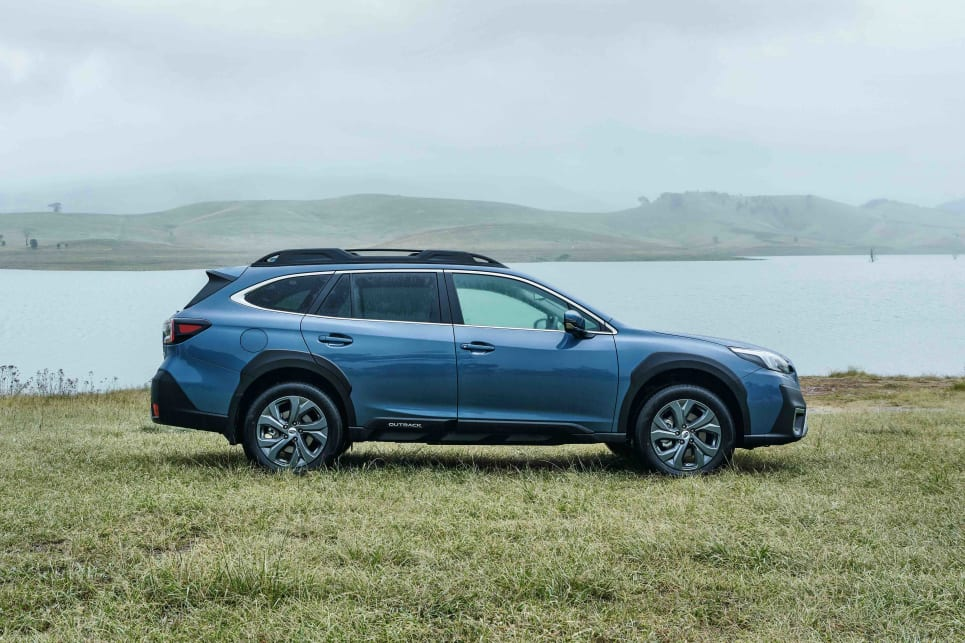 The entry-level Outback AWD comes in at $39,990 (image: AWD).