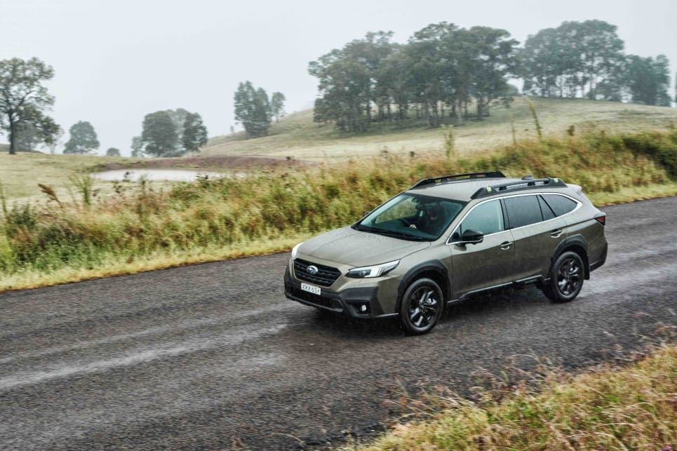If you've driven a previous-generation Outback, you're not going to feel like this is unfamiliar territory (image: AWD Sport).