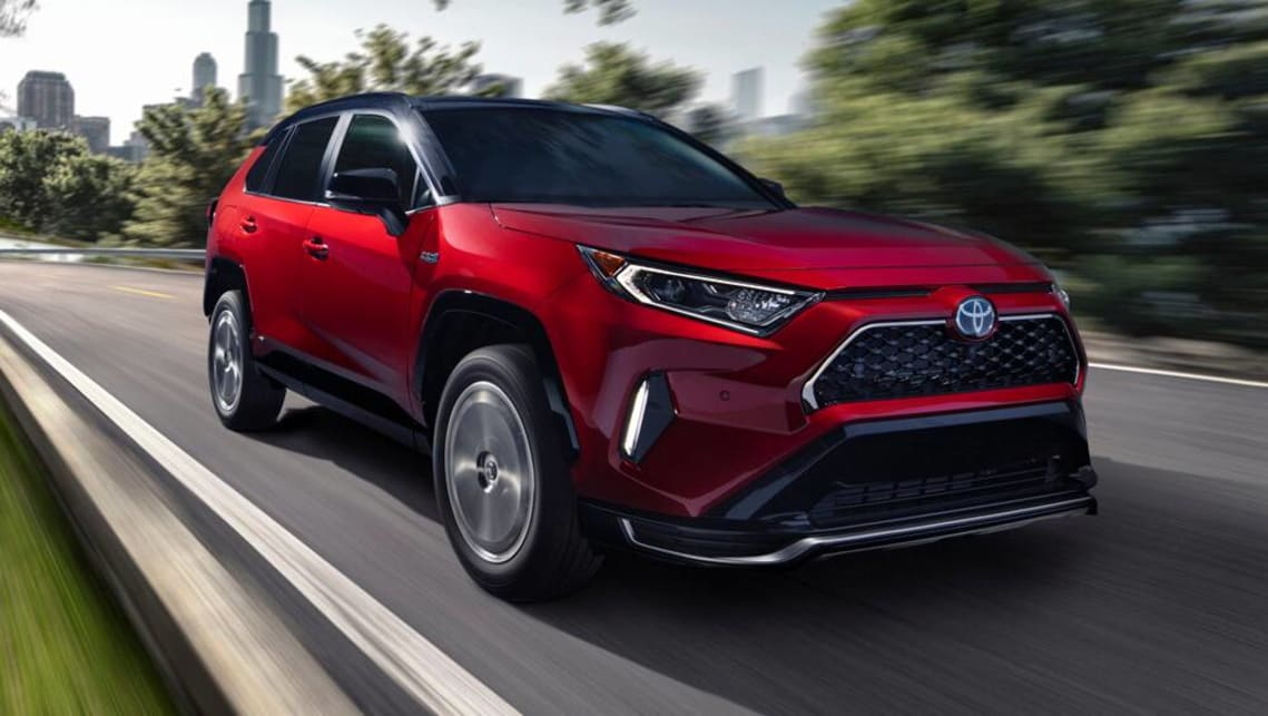Toyota Rav4 Prime 2021 Detailed Hot Hatch Slaying Acceleration For Plug In Suv Car News Carsguide