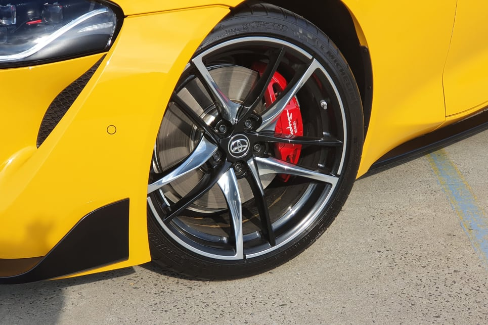 This test car was the top-spec GTS that adds 19-inch wheels.