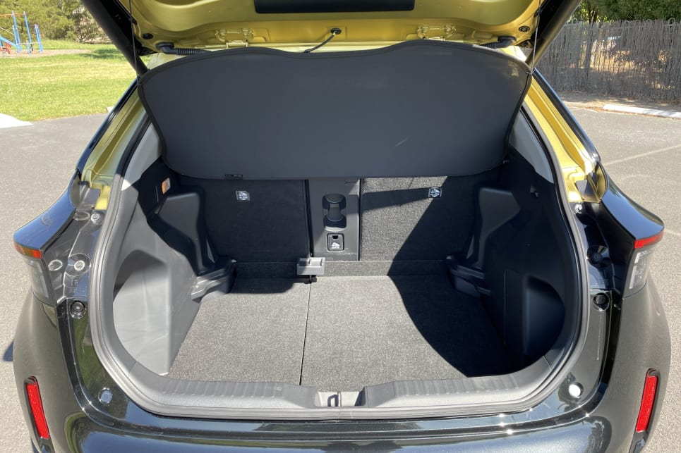 The Urban 2WD petrol's boot has a false floor that unleashes its maximum cargo capacity when lowered.