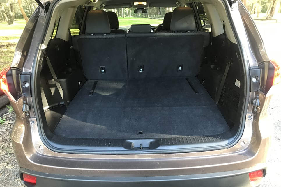 Drop the 60/40 split-folding third-row seats and space increases to a healthy 529 litres with a perfectly flat floor.