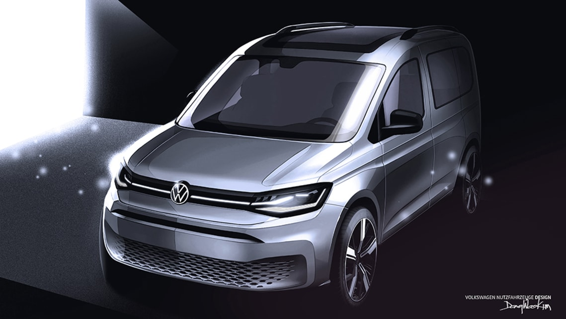 New VW Caddy 2021 previewed: Next-gen LCV to gain sporty ...