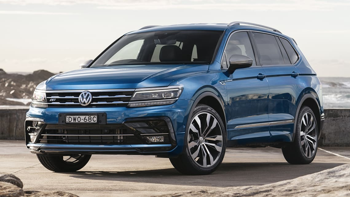 New Volkswagen Tiguan Allspace 2021 Pricing And Spec Detailed 140tdi Returns As Diesel Powered Honda Cr V And Nissan X Trail Alternative Car News Carsguide