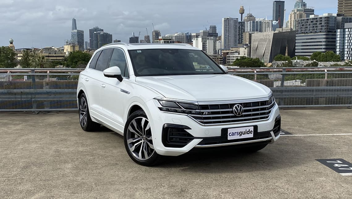 Vw Touareg 2021 Review V8 Tdi R Line Is It The Ultimate Volkswagen Carsguide