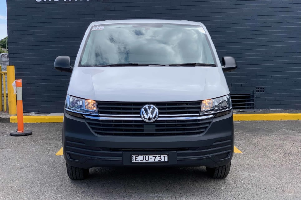There have been some subtle changes to this facelifted version of the Transporter.