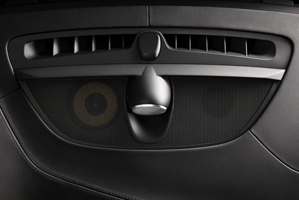 The XC90 features a Bowers and Wilkins 19-speaker stereo.