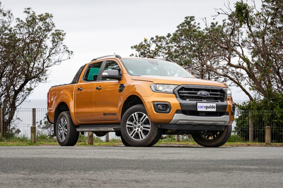 Tthe most expensive of these three is the Ford Ranger Wildtrak (image credit: Tom White).