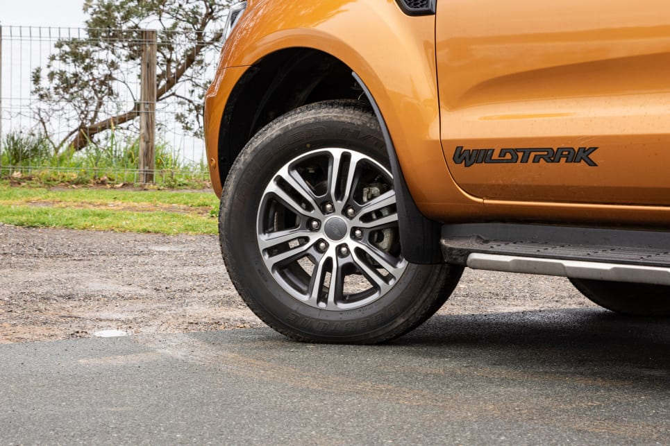 All three utes have 18-inch alloy wheels (image credit: Tom White).