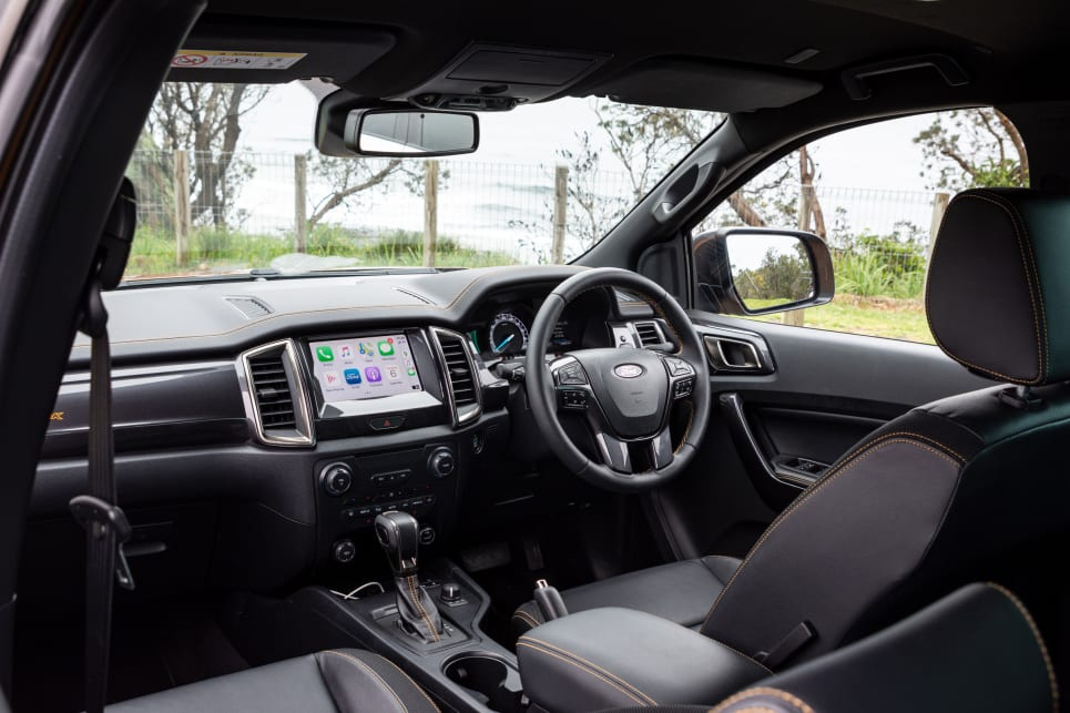 The Ranger's dash design has stood the test of time (image credit: Tom White).