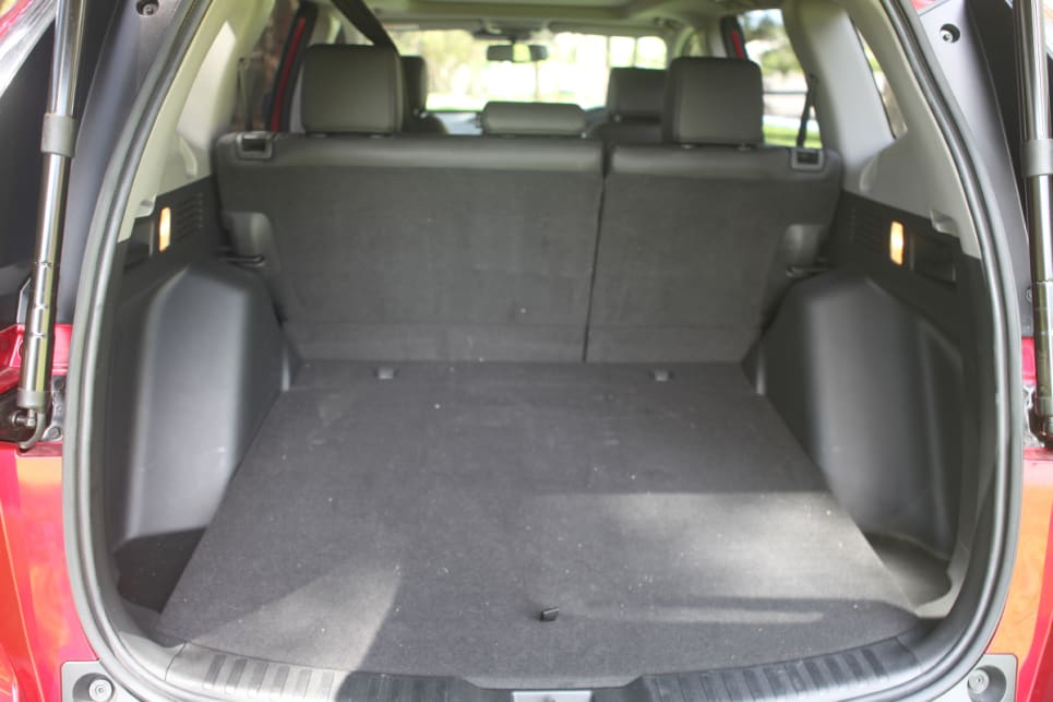 With the rear seats in place, boot space is rated at 522 litres.