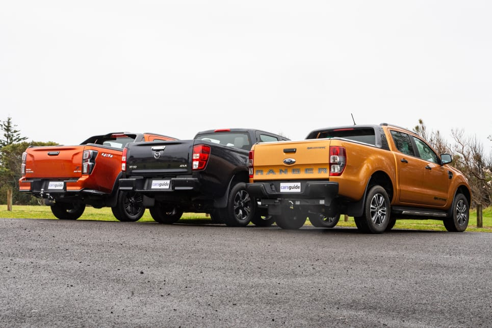 The Isuzu D-Max and Mazda BT-50 are essentially twins under the skin (image credit: Tom White).