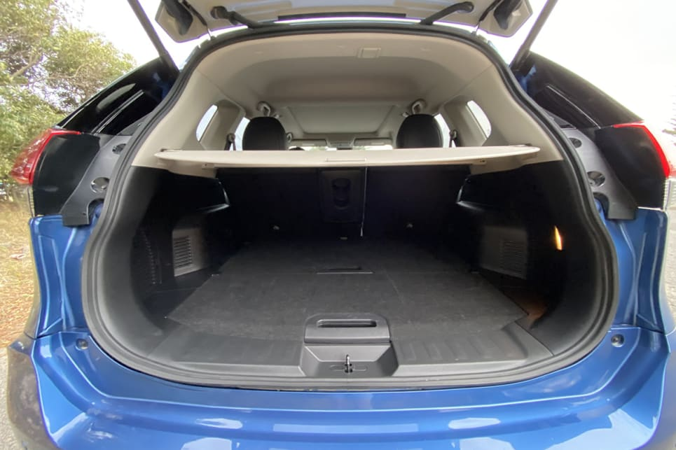 With the rear seats in place, cargo capacity is rated at 565 litres.