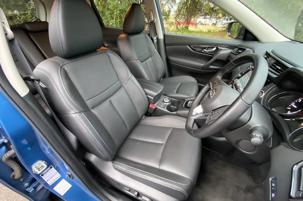 The X-Trail has tons of room.