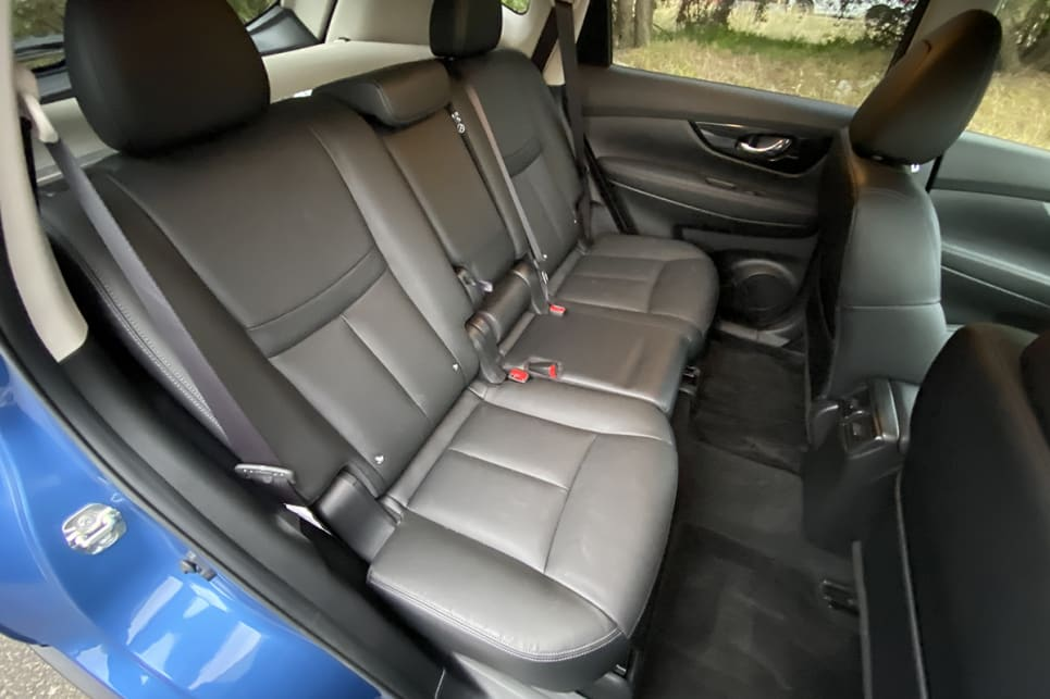 The back seats have heaps of head and legroom.