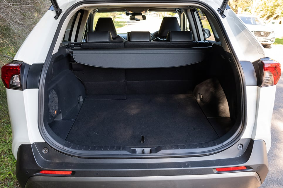 With the rear seats in place, boot space is rated at 580 litres. (image credit: Rob Cameriere)