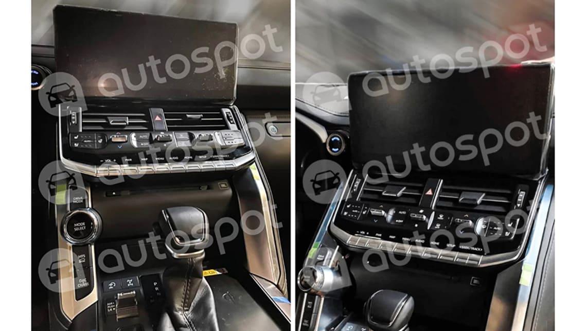 2022 Toyota Land Cruiser 300 Series leaked! Twin-turbo V6 ...
