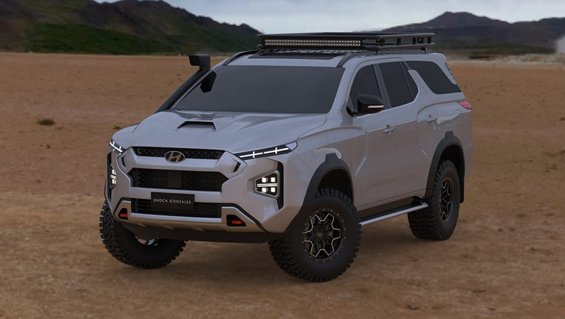 Hyundai S Toyota Land Cruiser 300 Series Rival Rendered New Off Road Suv Shows Potential Car News Carsguide