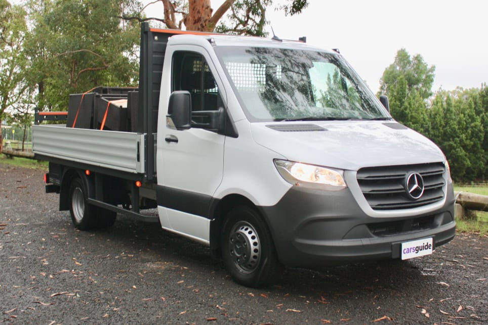 The Mercedes Sprinter is available in a whopping 1700 different configurations.