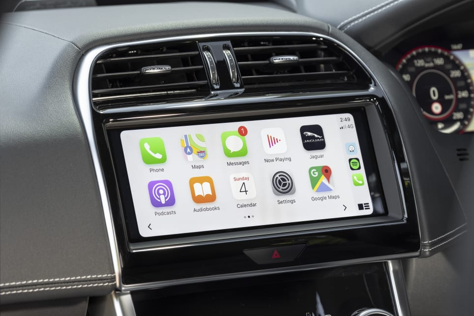 Coming standard on both cars is a 10.0-inch screen