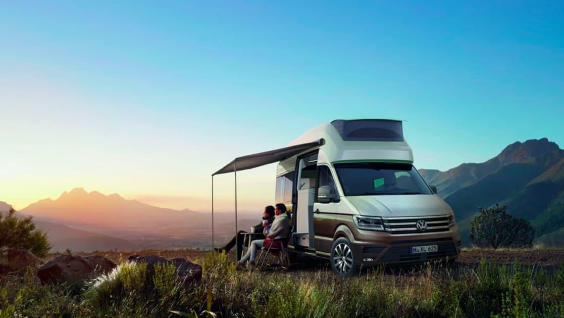 VW California Xxl >> Vw California Xxl Campervan Concept Green Lit For Production