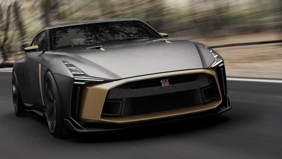 The GT-R's already formidable twin-turbo V6 engine has been tweaked to produce another 88kW, now 530kW.
