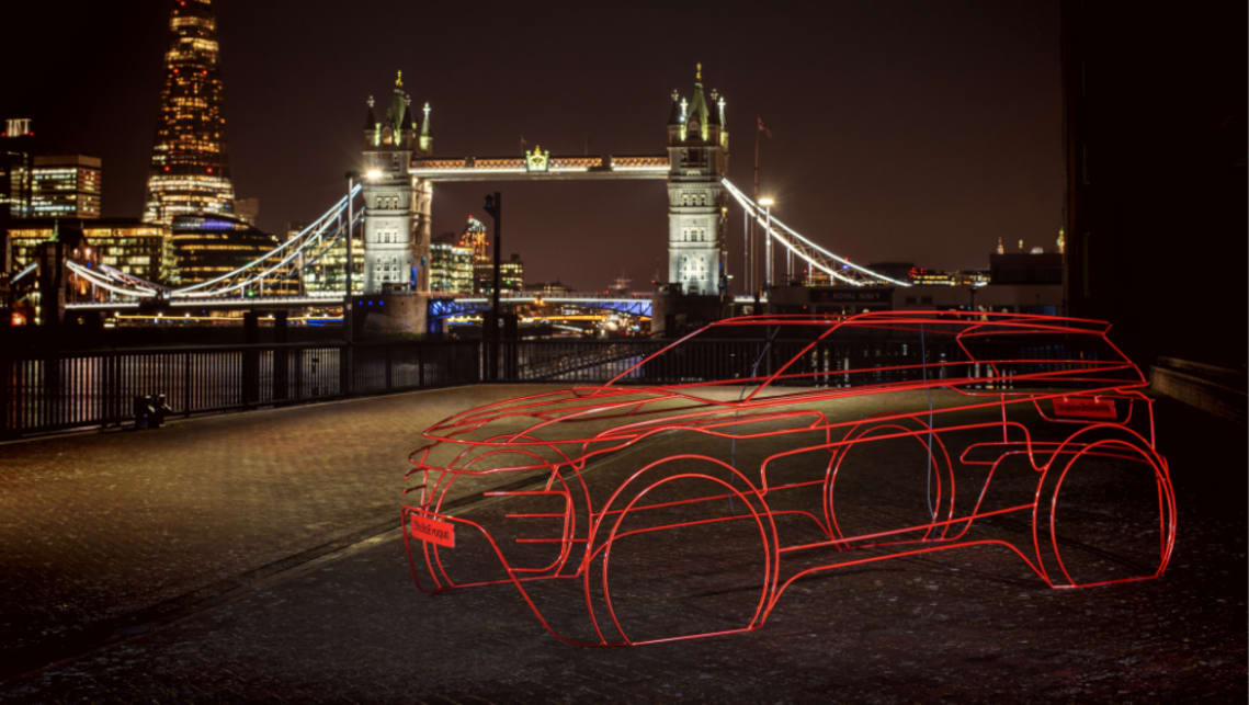 Range Rover Evoque 2019 teased ahead of official reveal