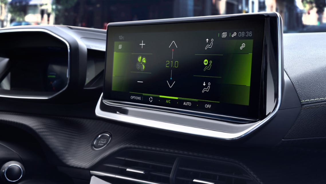 A cabin overhaul sees Peugeot's i-Cockpit dash design appear for the first time.