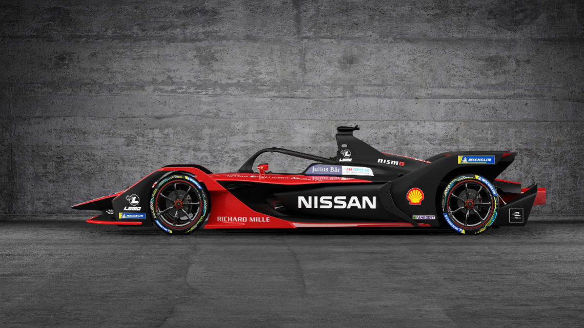 Nissan's electric feels: New Formula E racer revealed