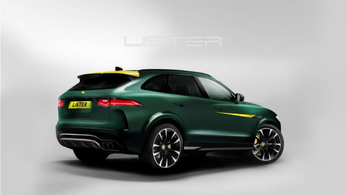 Based very heavily on the Jaguar F-Pace, Lister has given the SUV a full-body makeover.