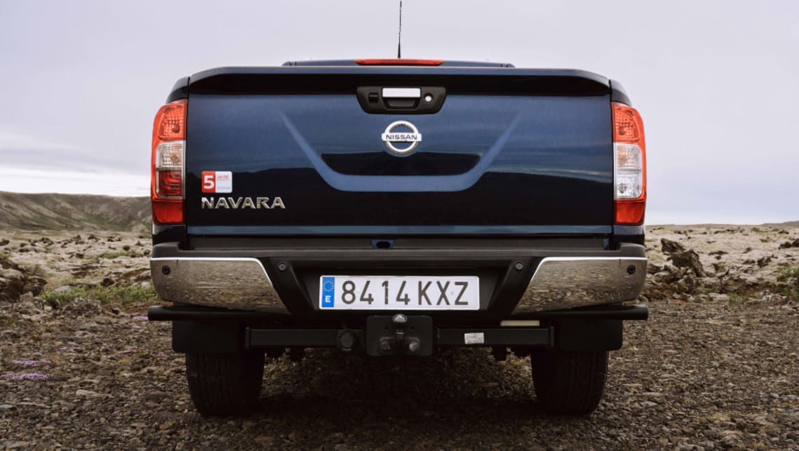 It's currently unclear what changes will appear on the updated Navara in Australia.