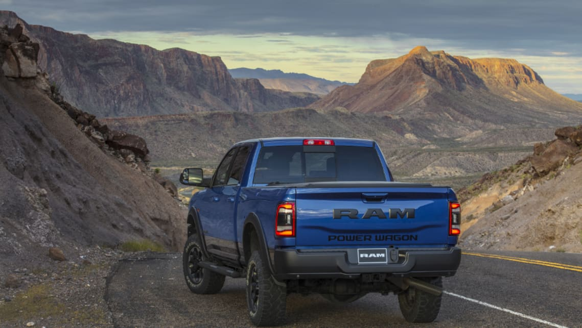 Ram claims a towing capacity of 15,921kg and a 3484kg payload.