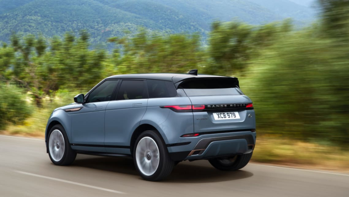 The Evoque will span seven trim levels with a choice of six engines when it arrives in Australia.
