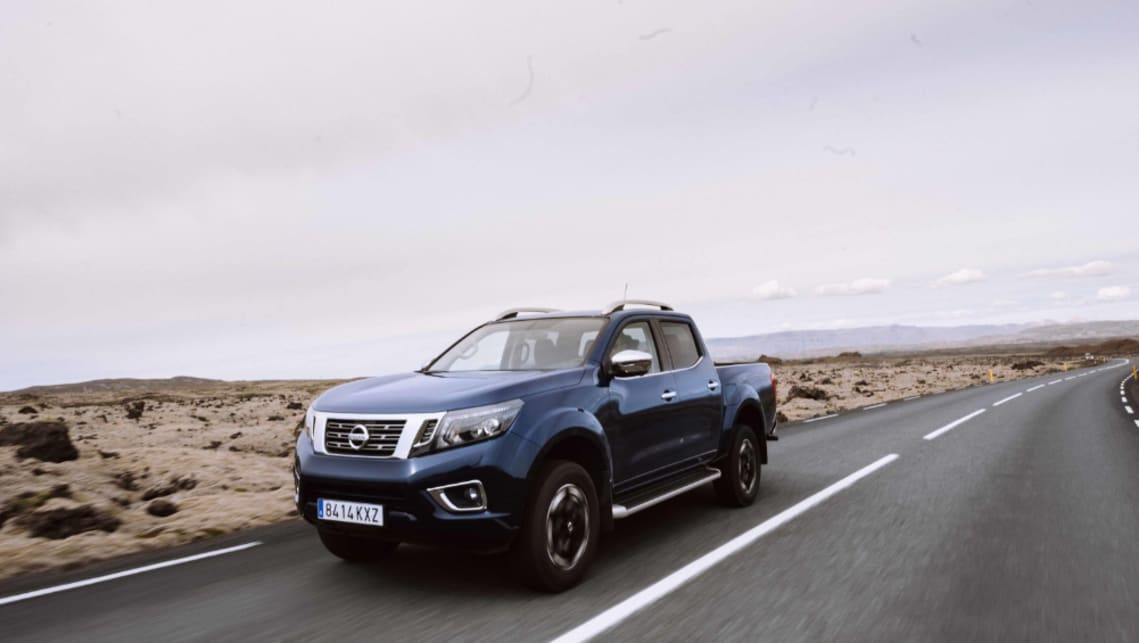 A new Navara in Europe points to changes for the Australian cars.