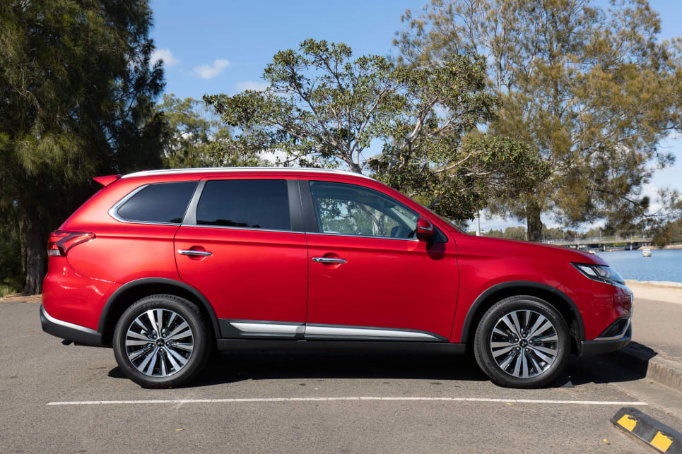 The Outlander looks like a practical family car.