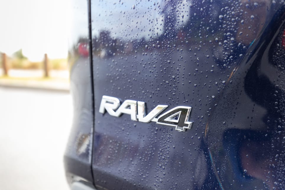 The RAV4 comes with advanced safety as standard.
