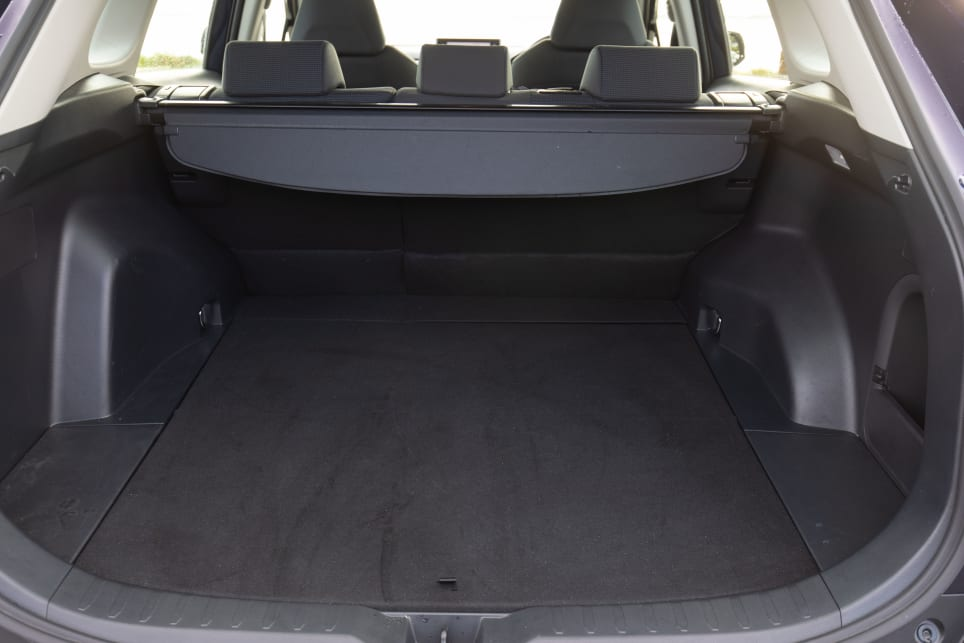 The RAV4 has plenty of interior and boot space.