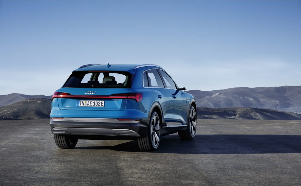 The e-tron, the five-seat, five-door SUV is a fraction longer and a fair bit lower than a Q5.