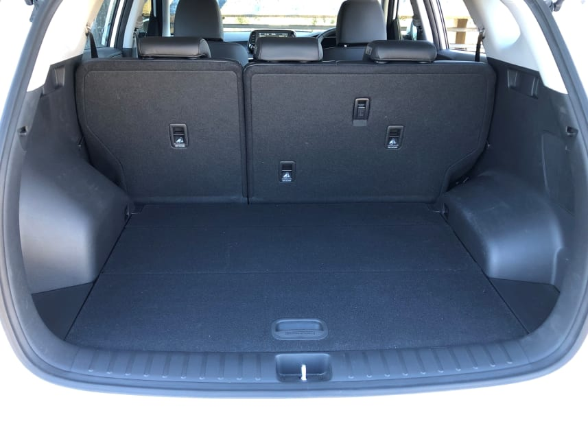 Hyundai Tucson Active X boot space.