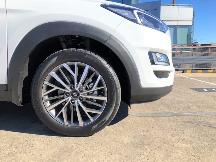 18-inch alloy wheels are standard on the Active X.
